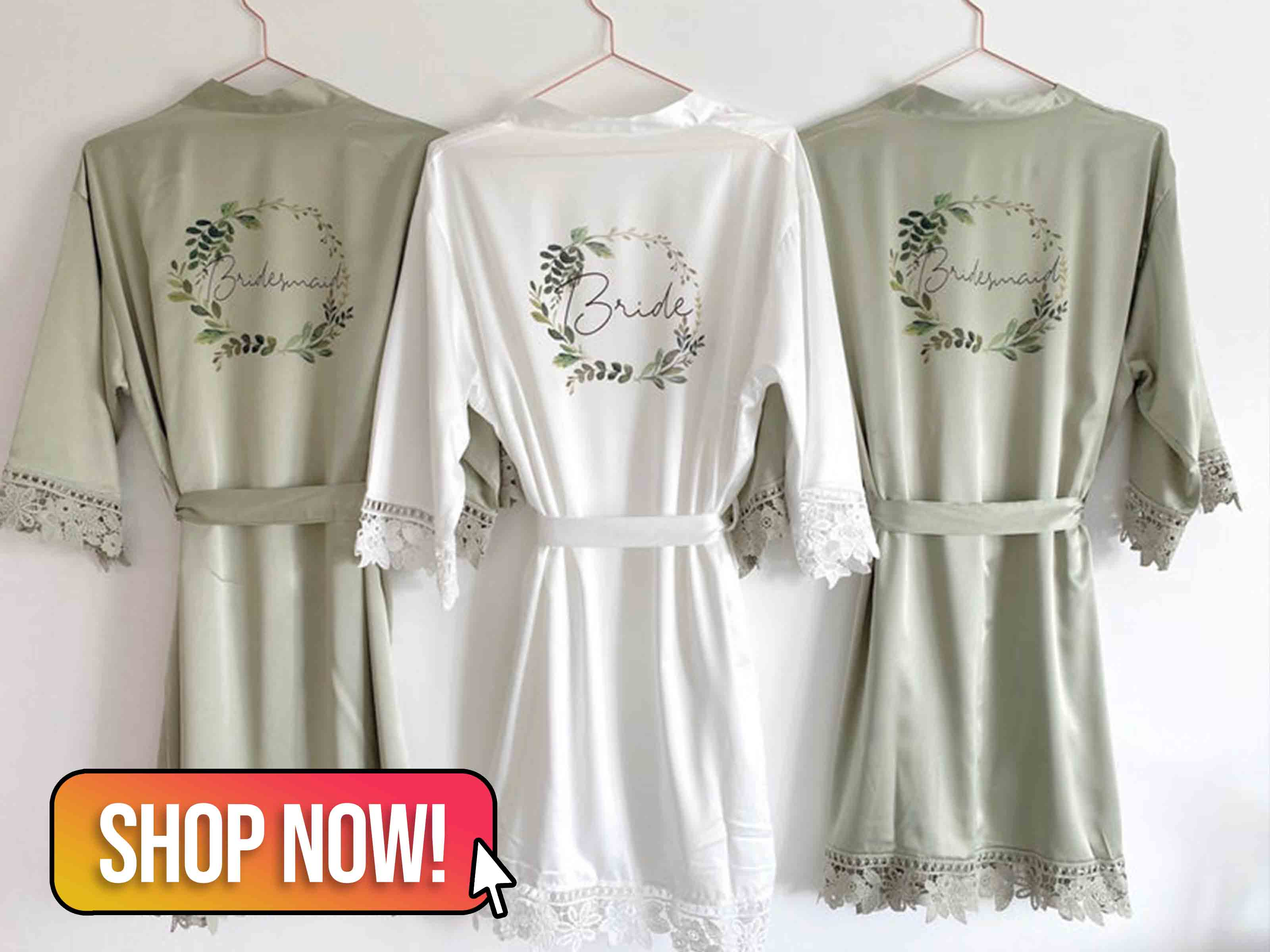 Bride & Bridesmaid Dressing Gowns