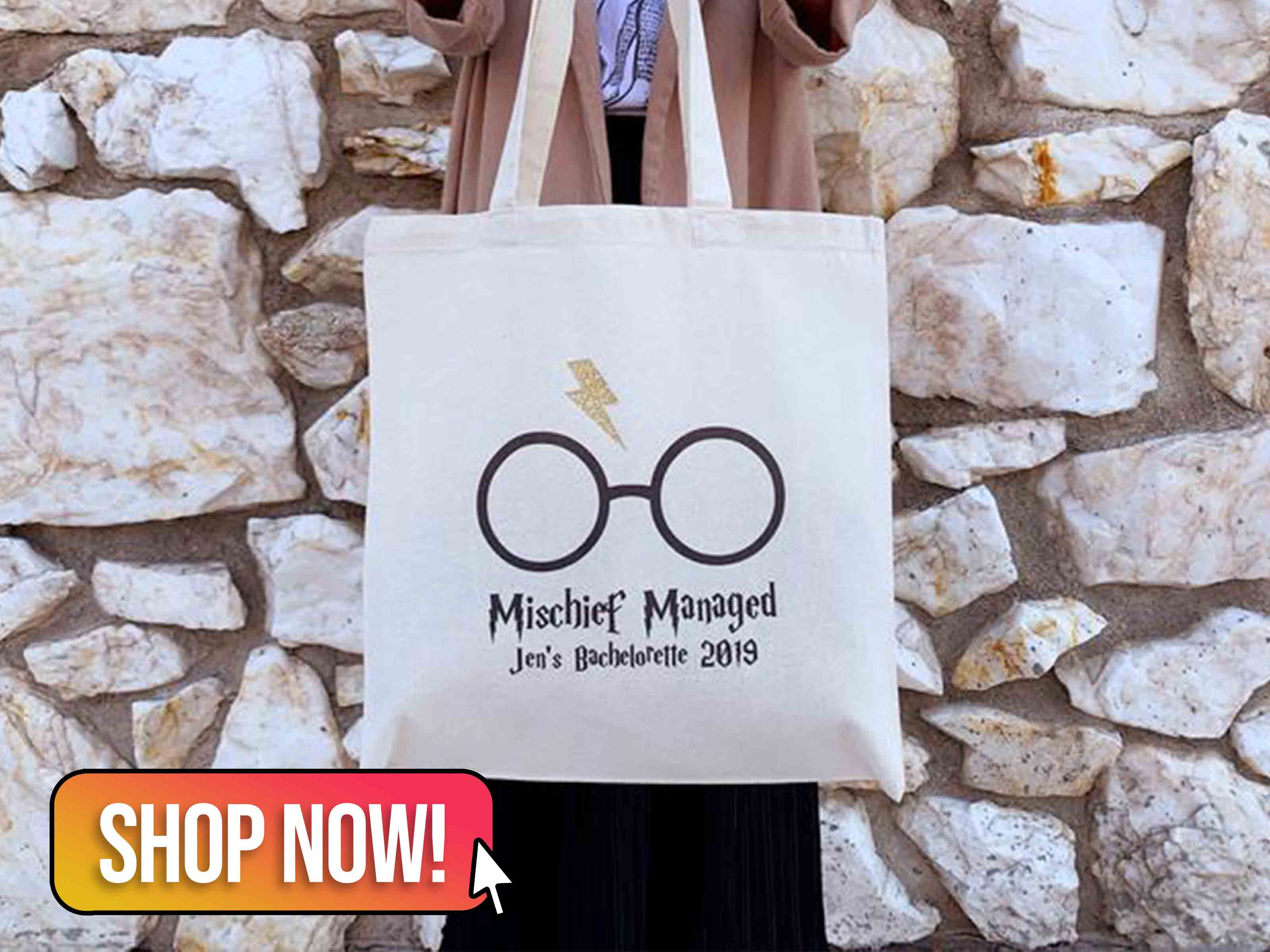 HP Tote Bags for Bridesmaids