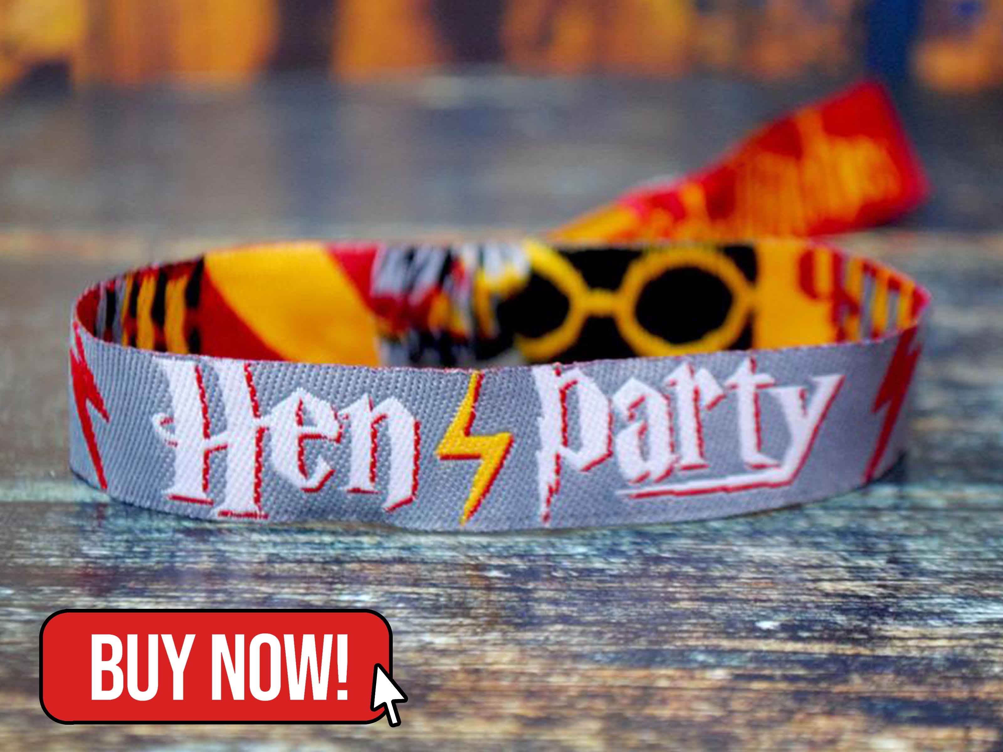 Witches Wristbands Hen Party