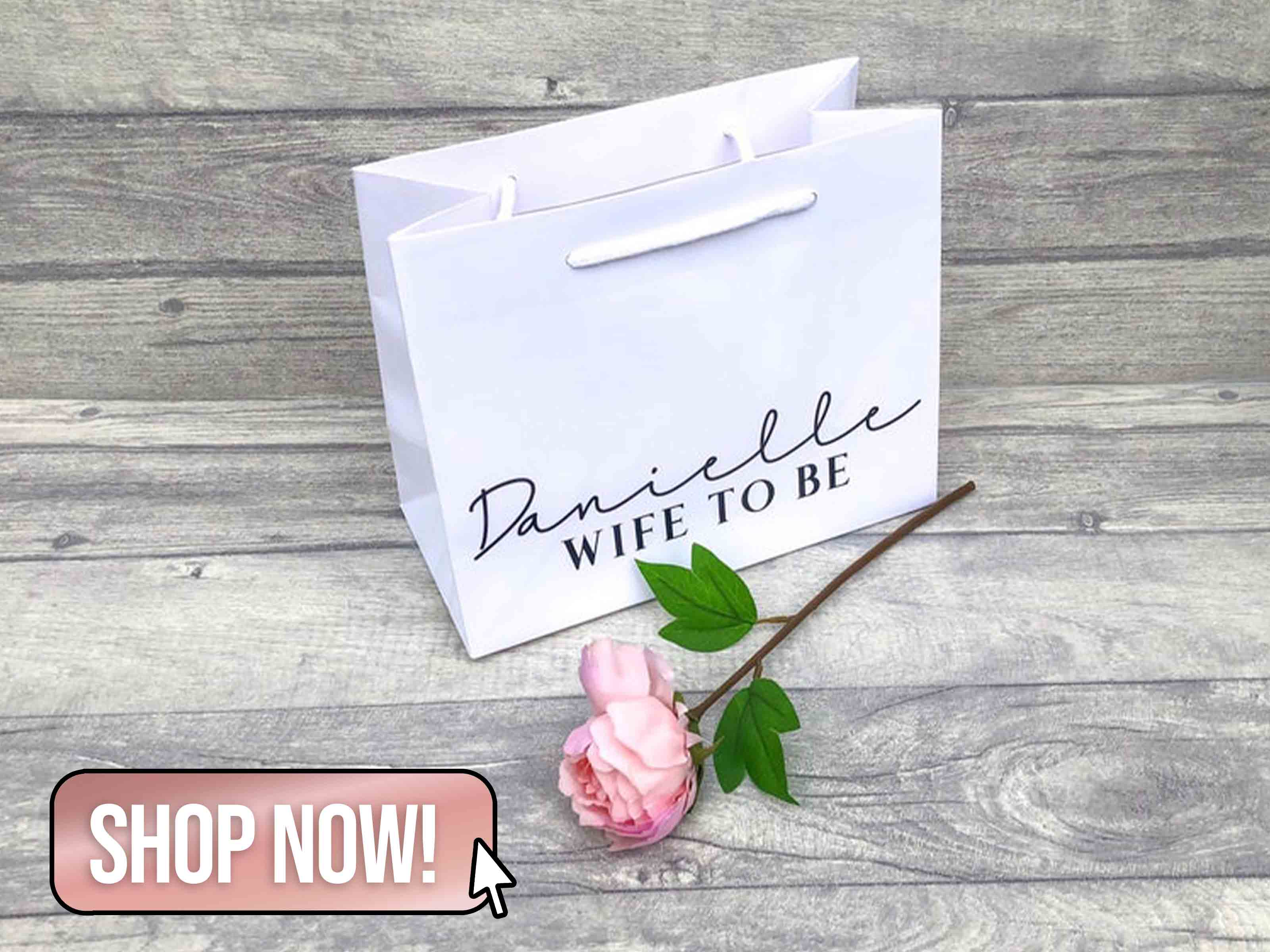 Wife To Be Gift Bag - SaraJBridal