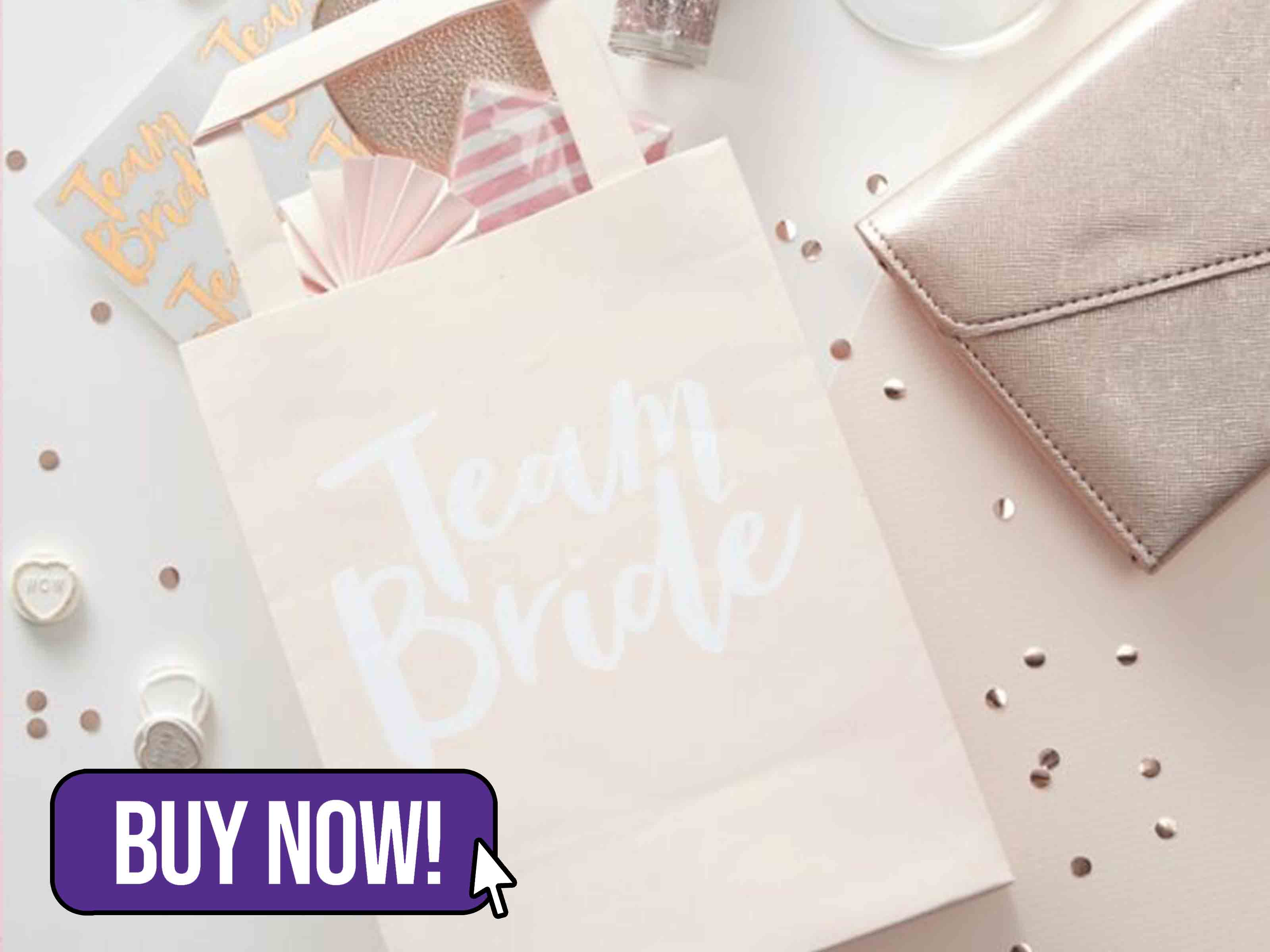TEAM BRIDE PARTY BAGS - Ginger Ray