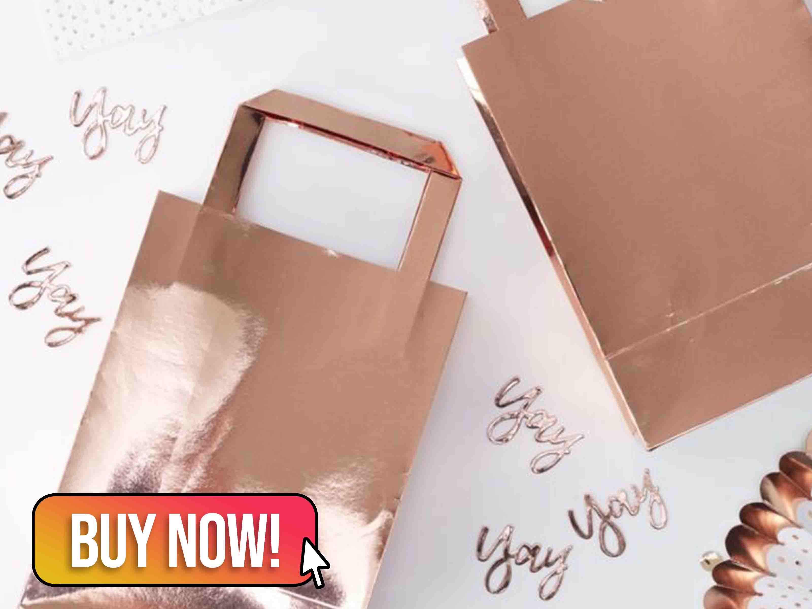 ROSE GOLD PARTY BAGS - Ginger Ray