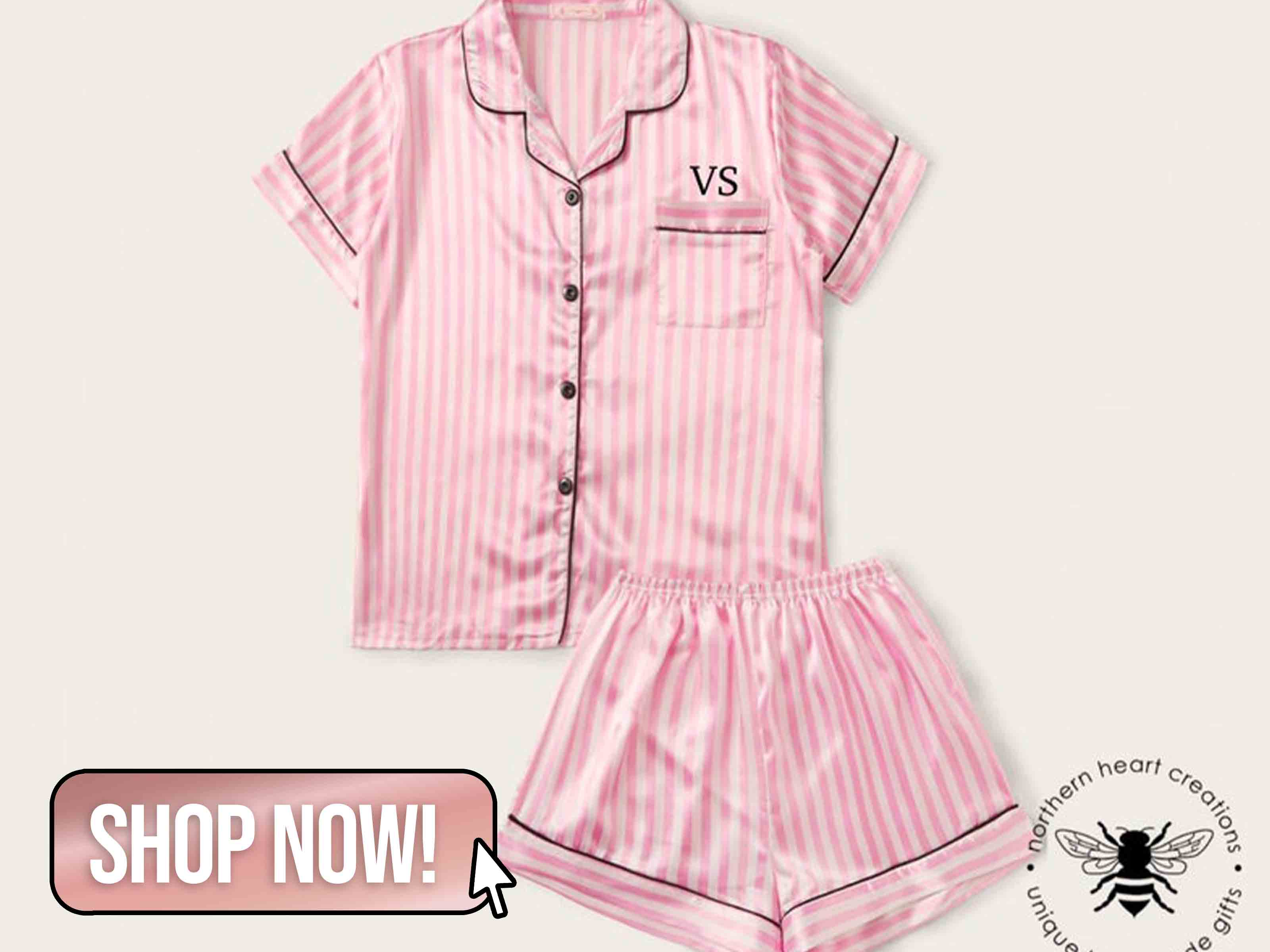 Pink Striped Pyjamas