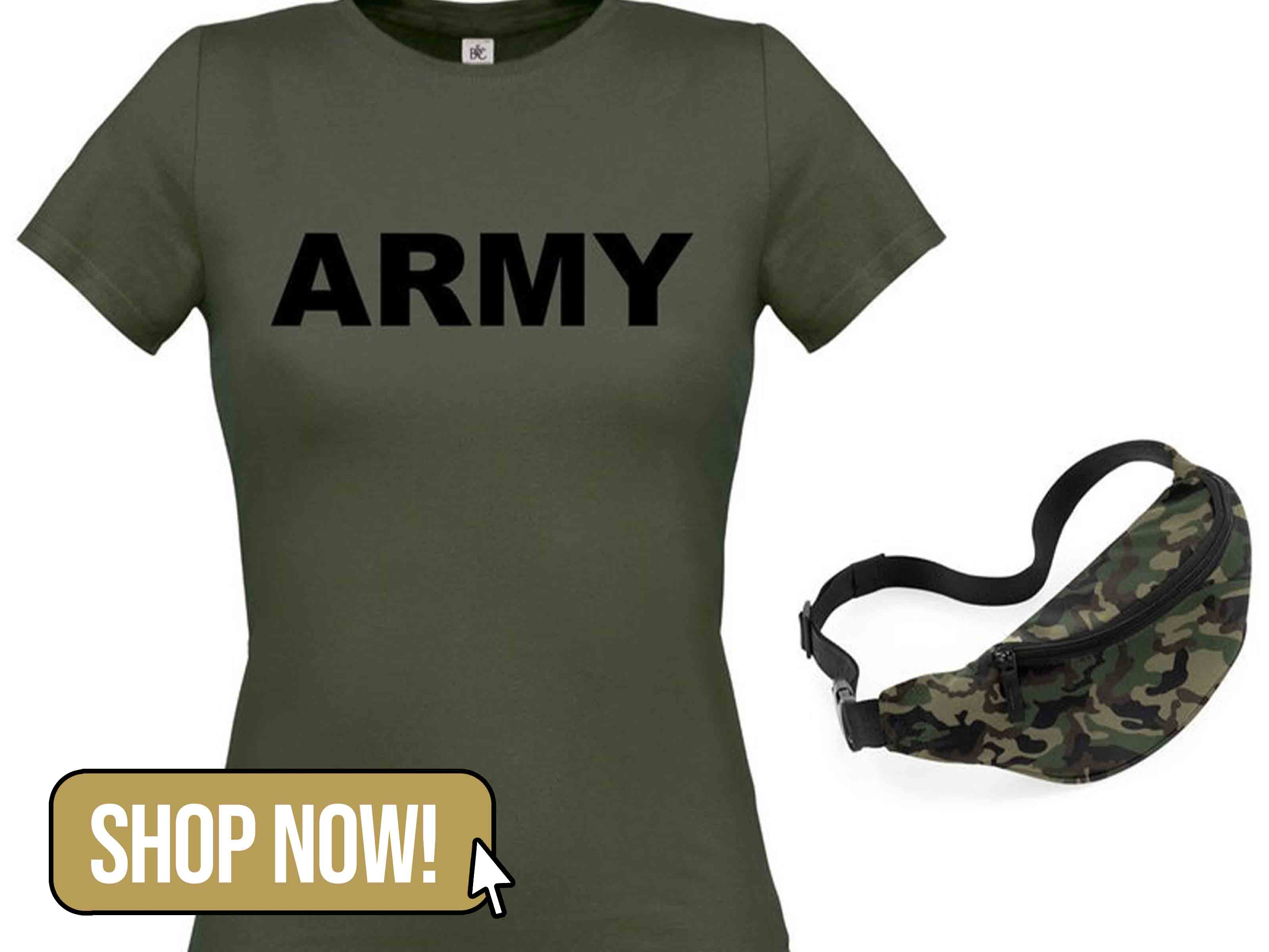 Army T-Shirt & Bag