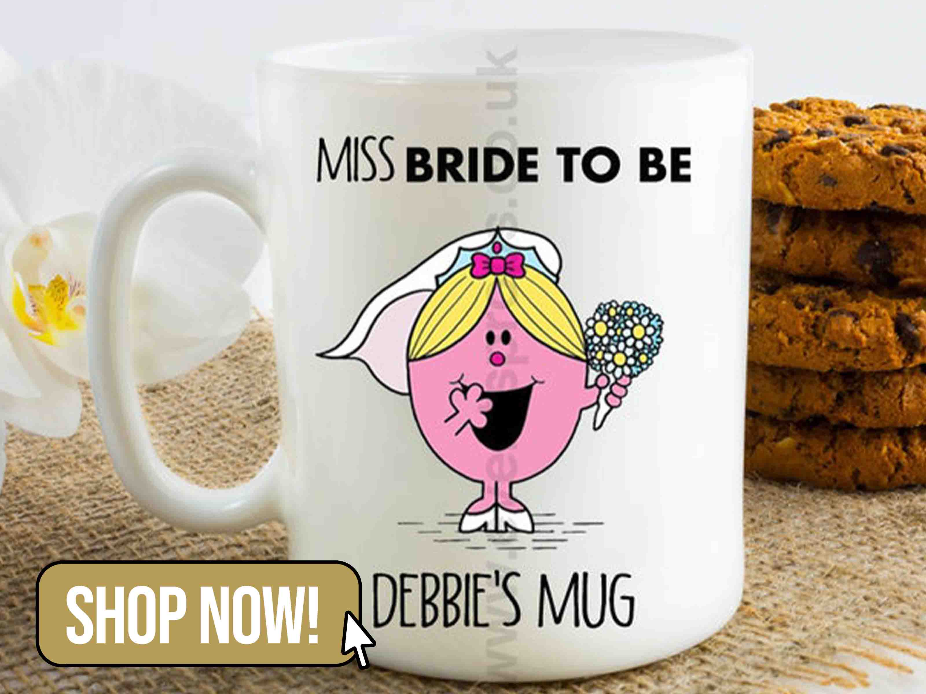 Miss Bride to Be Mug
