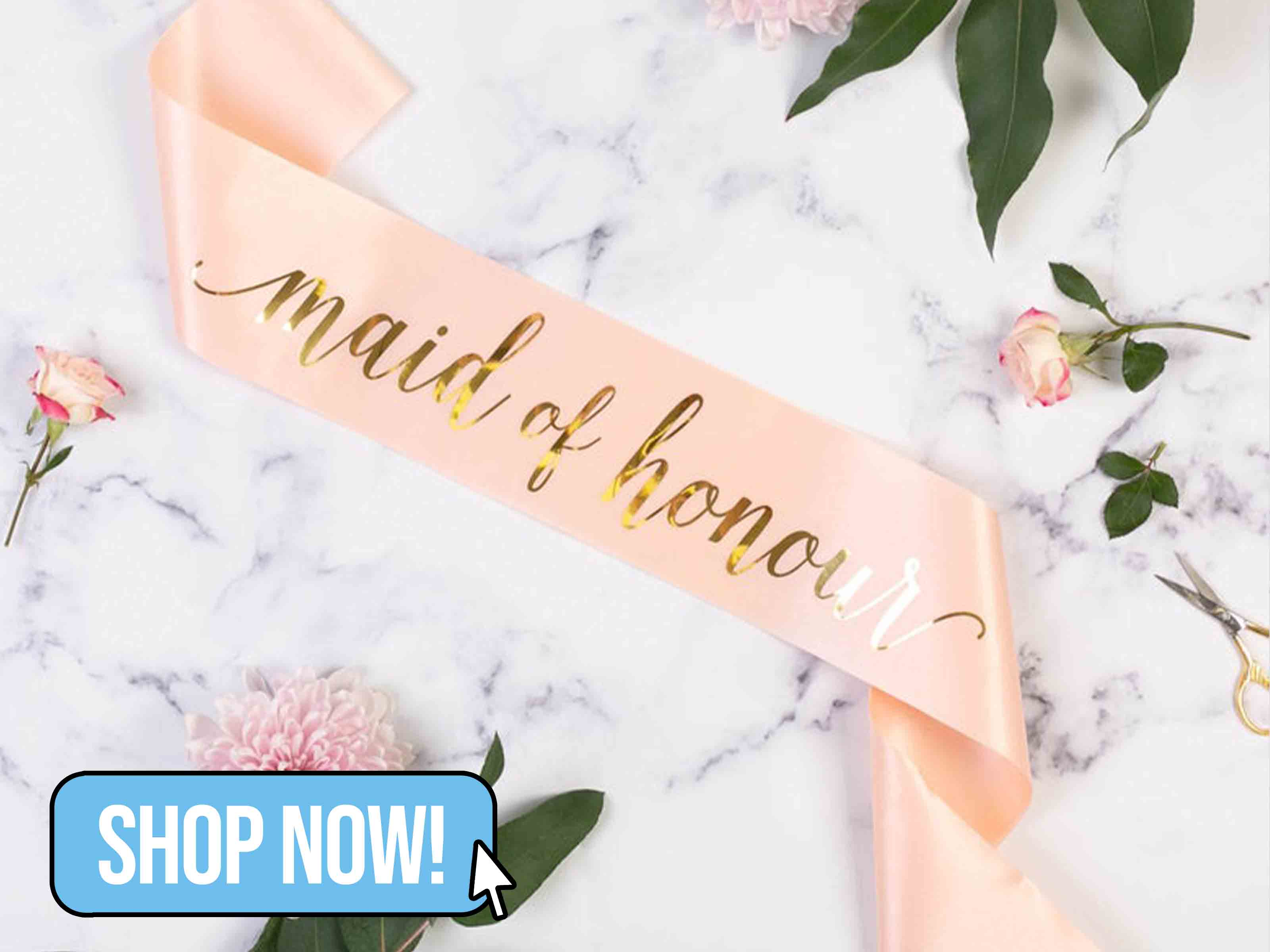 MAID OF HONOUR HEN PARTY SASH - TeamHen