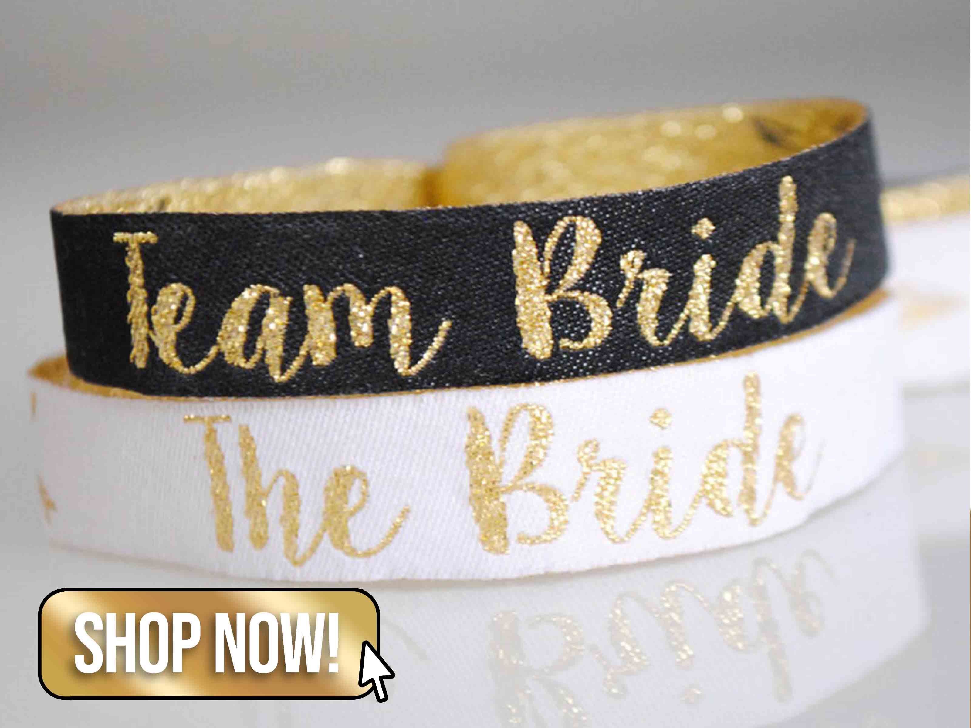 Team Bride Hen Party Wristbands - WedfestWeddings