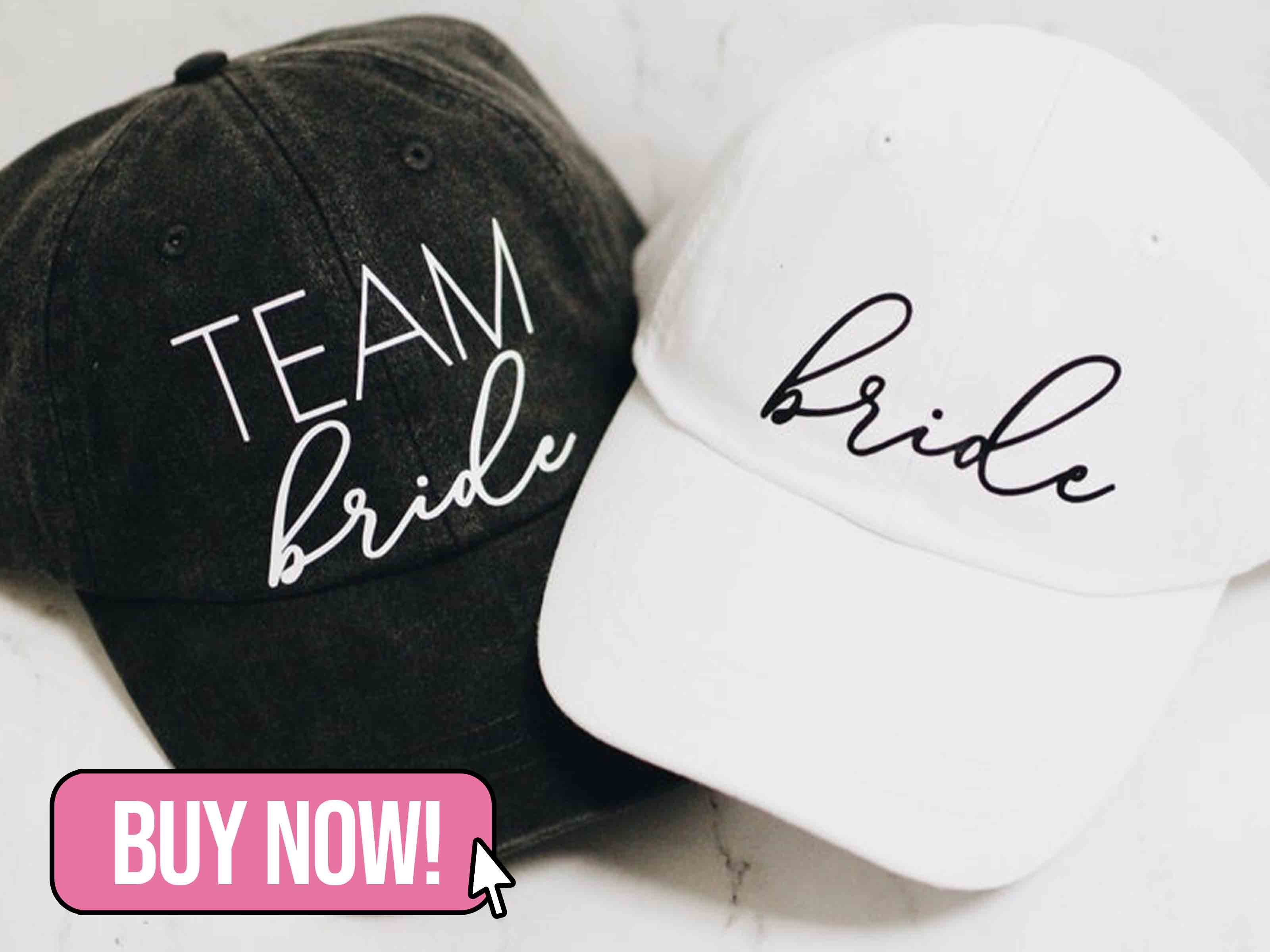Team Bride Baseball Cap - klsdbride