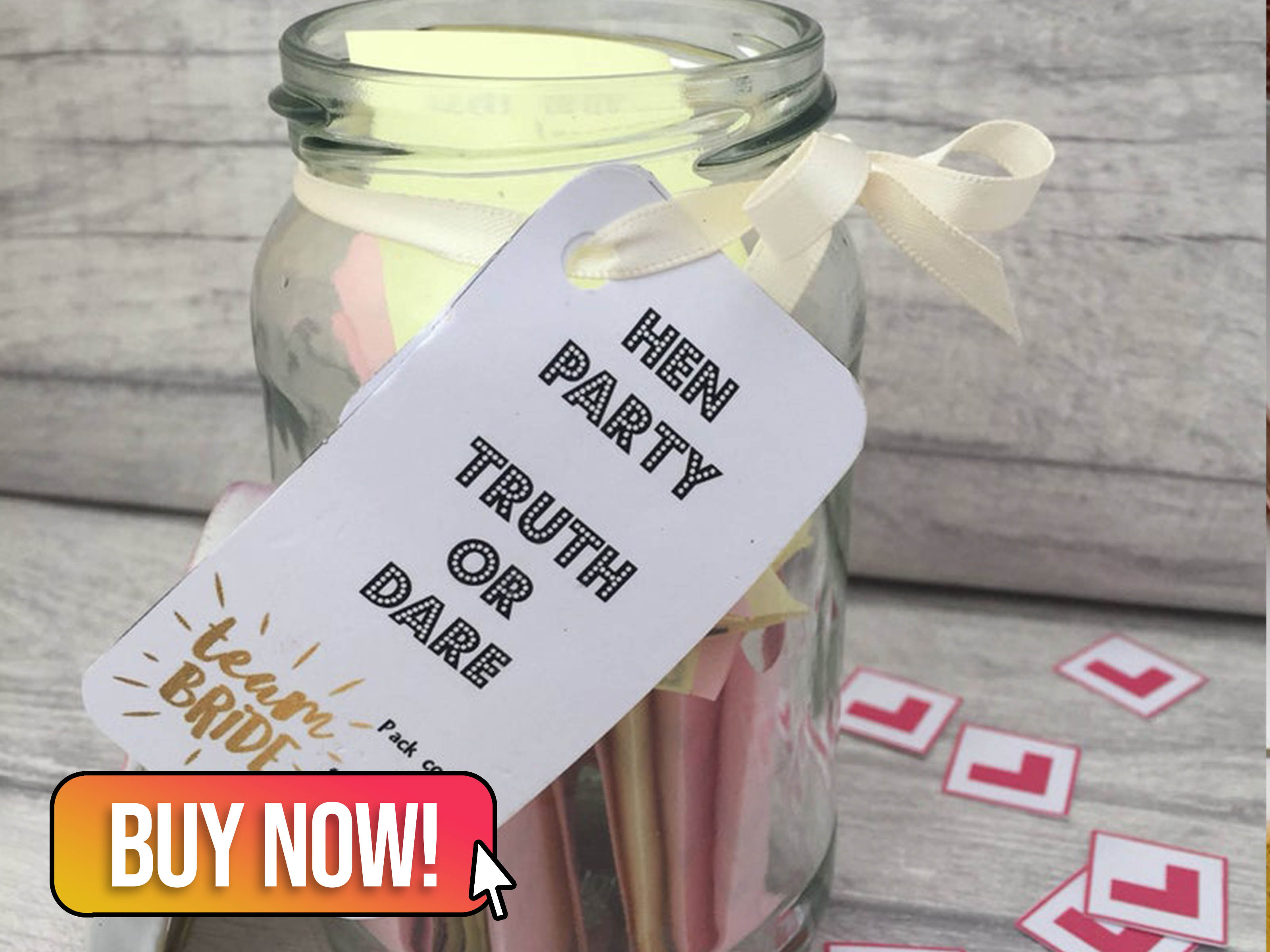 Truth or Dare Jar