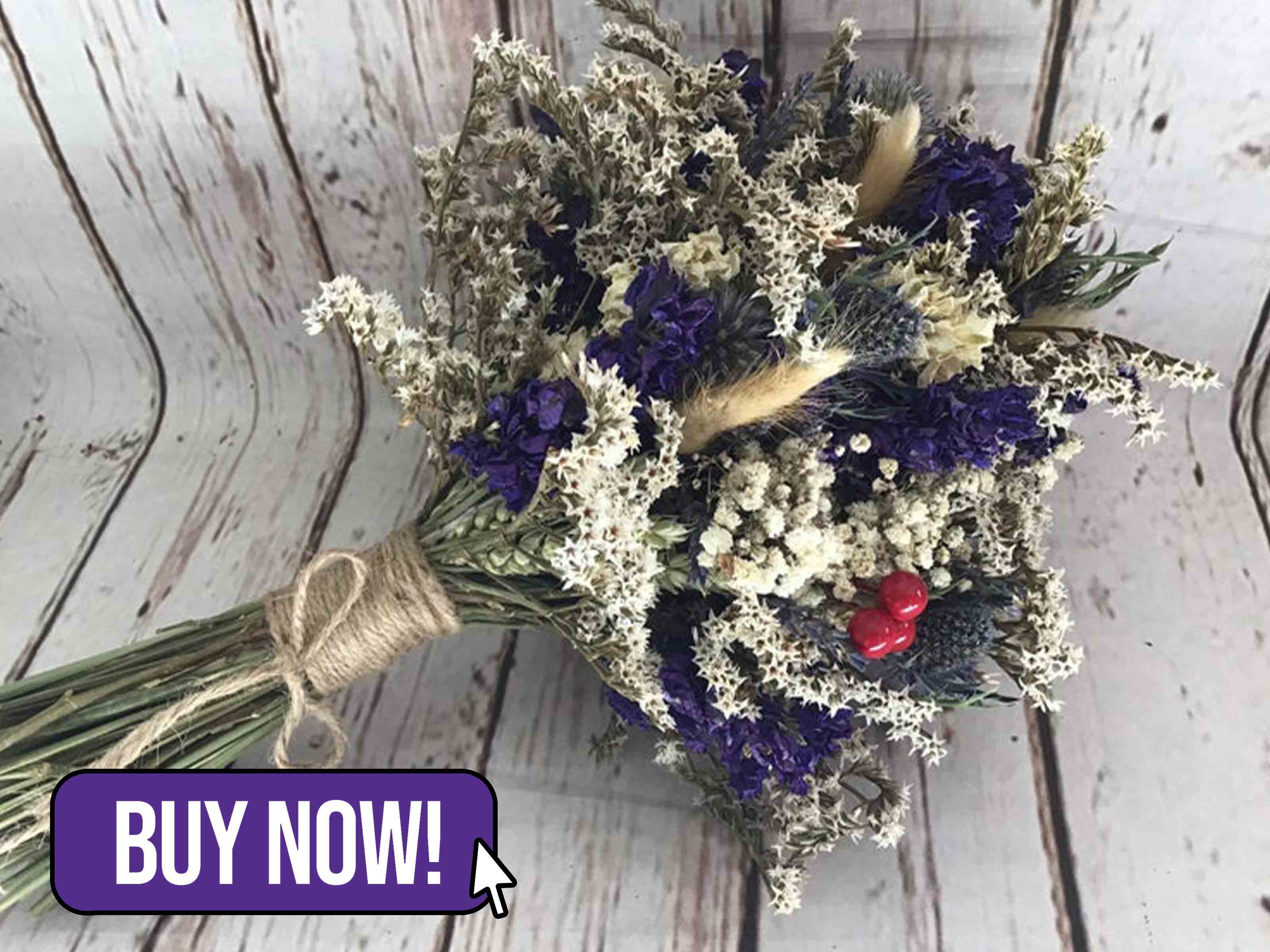 Dried Flower Bouquet - FlorenceAndFlowers
