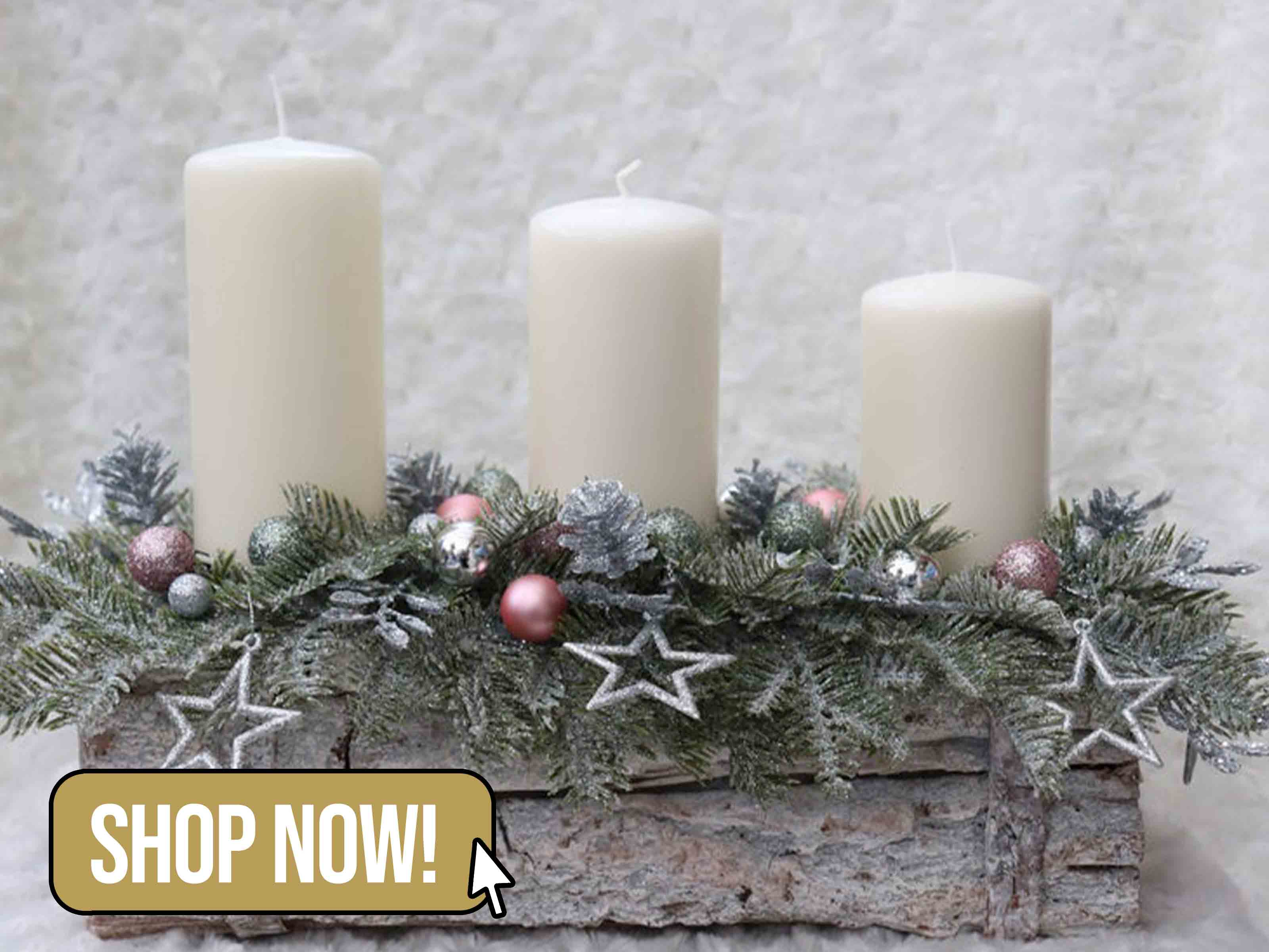 Candle Arrangement - NikkaUniqueBoutique