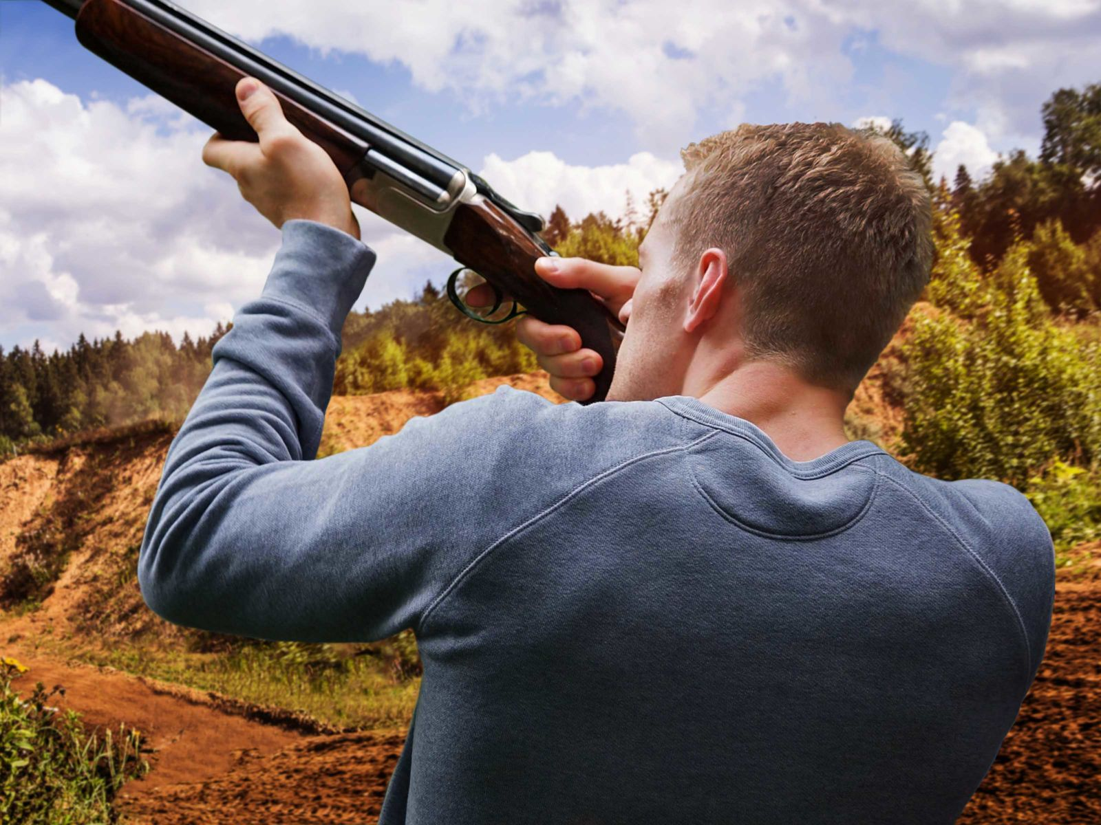 Clay Pigeon Shooting Stag Do in Albufeira