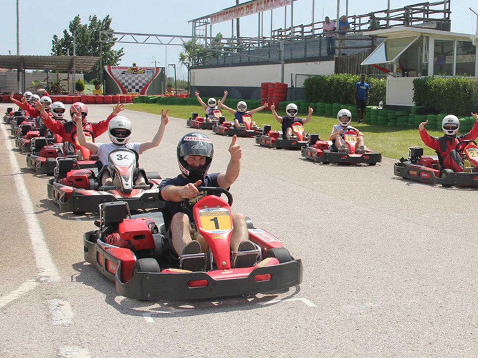 Outdoor Go Karting Stag Do in Albufeira