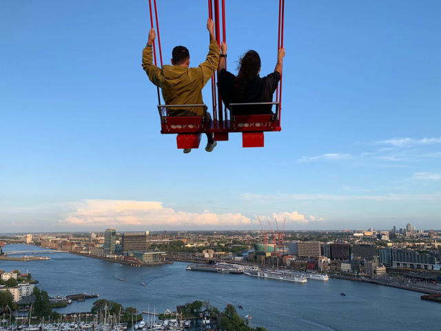 A'Dam Lookout Swing
