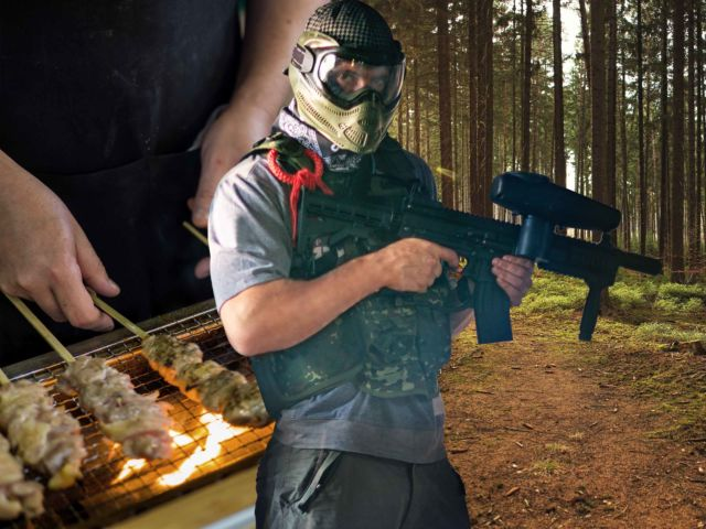 Deluxe Paintball & BBQ