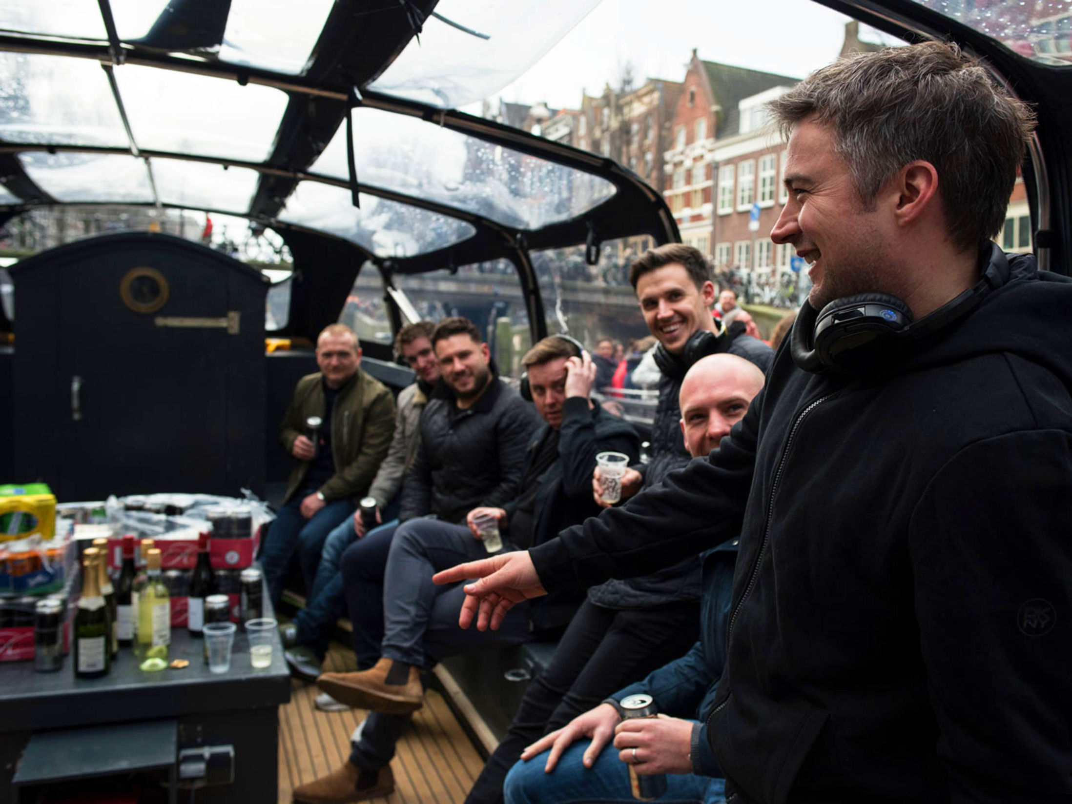 Canal Cruise Stag Do