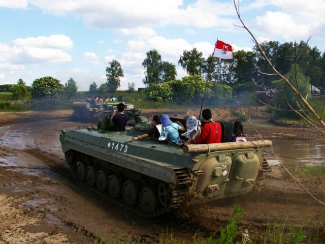 Military Vehicle & Tank Ride