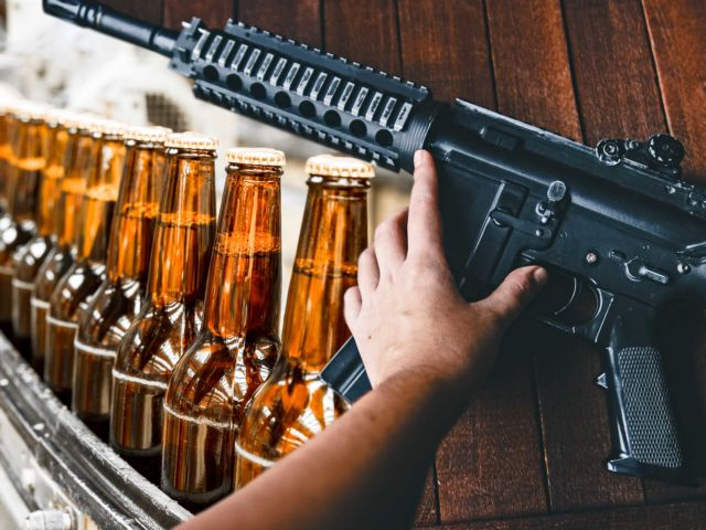Airsoft with Unlimited Beer