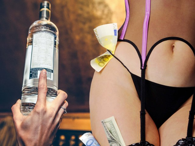 Strip Club with Unlimited Drinks