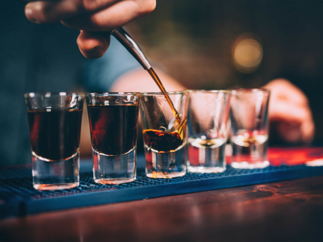 Bar Crawl with Deadly Shots