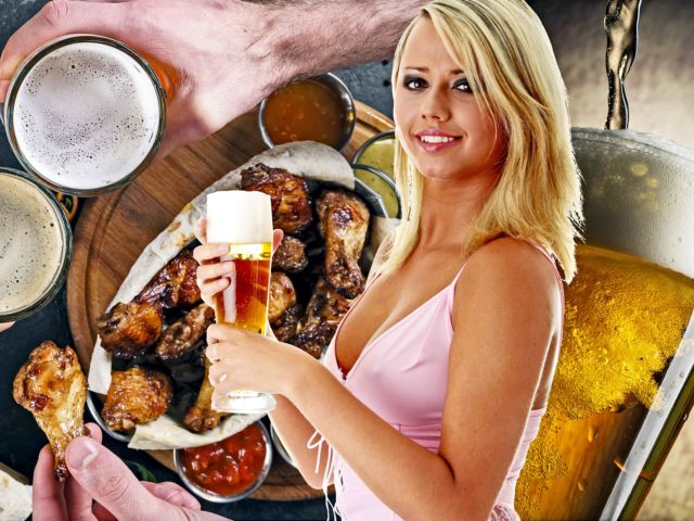 Hooters - Wings & Unlimited Beer