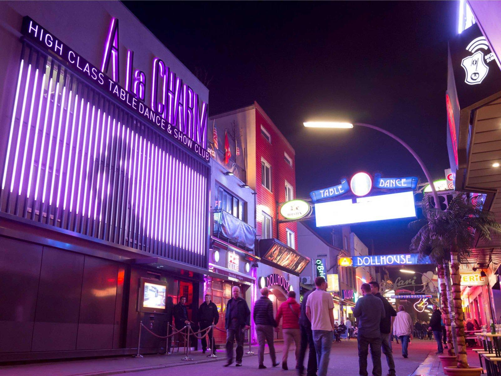 Strip Club Entry Stag Do in Hamburg