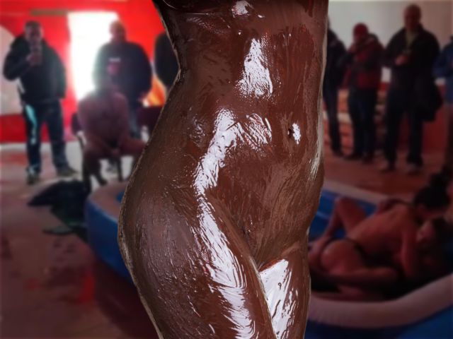Chocolate Mud Wrestling