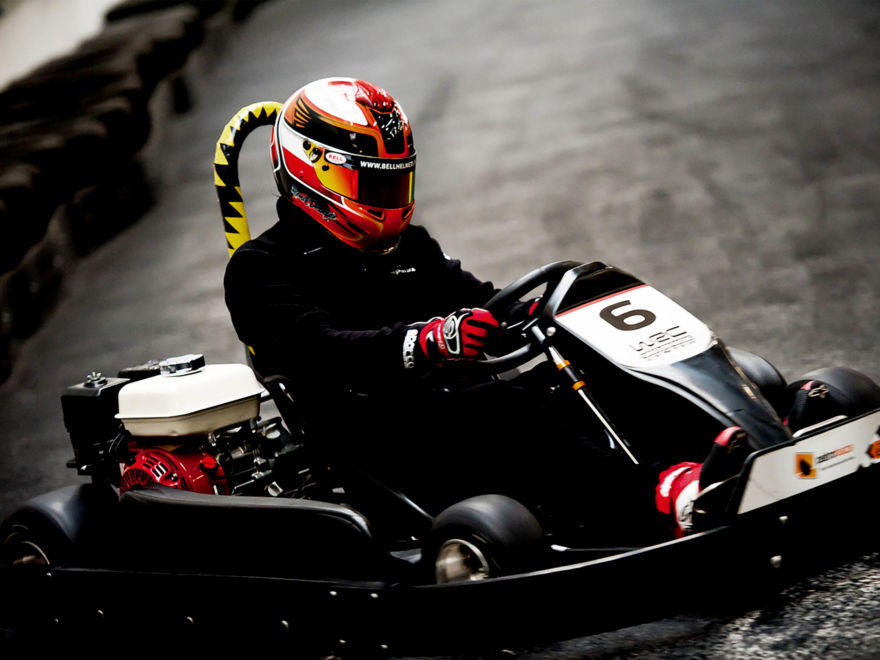 Deluxe Indoor Go Karting