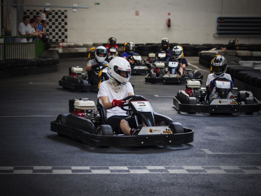 Deluxe Indoor Go Karting 2