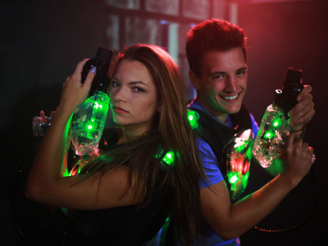 Laser Tag & Unlimited Drinks