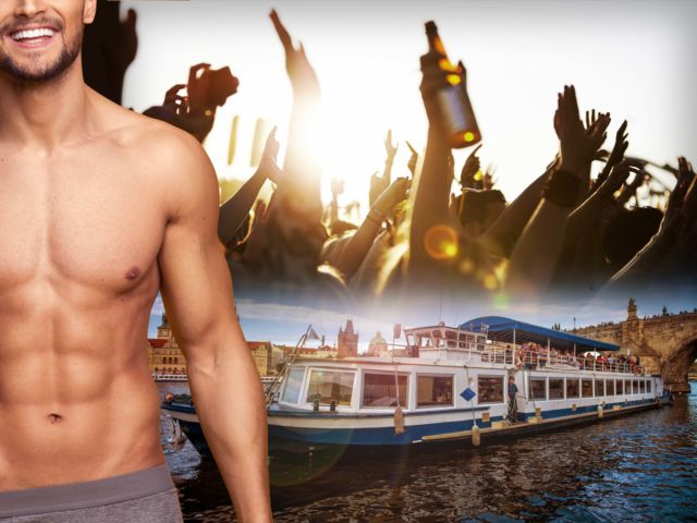 Private River Cruise with Stripper & Unlimited Drinks