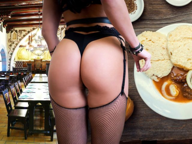Traditional Czech Dinner with Stripper