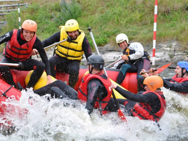 White Water Rafting Stag Weekend