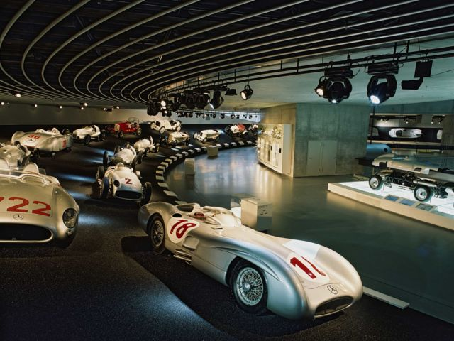 Mercedes-Benz Museum Tour