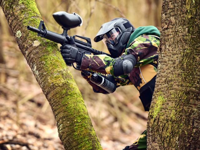 Outdoor Paintball