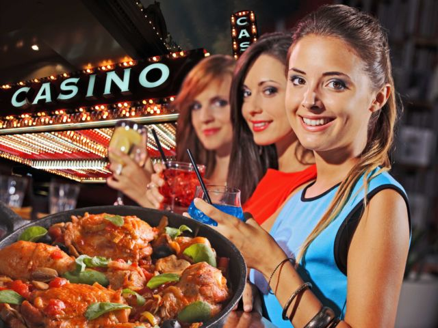 Casino Entry & 3 Course Meal