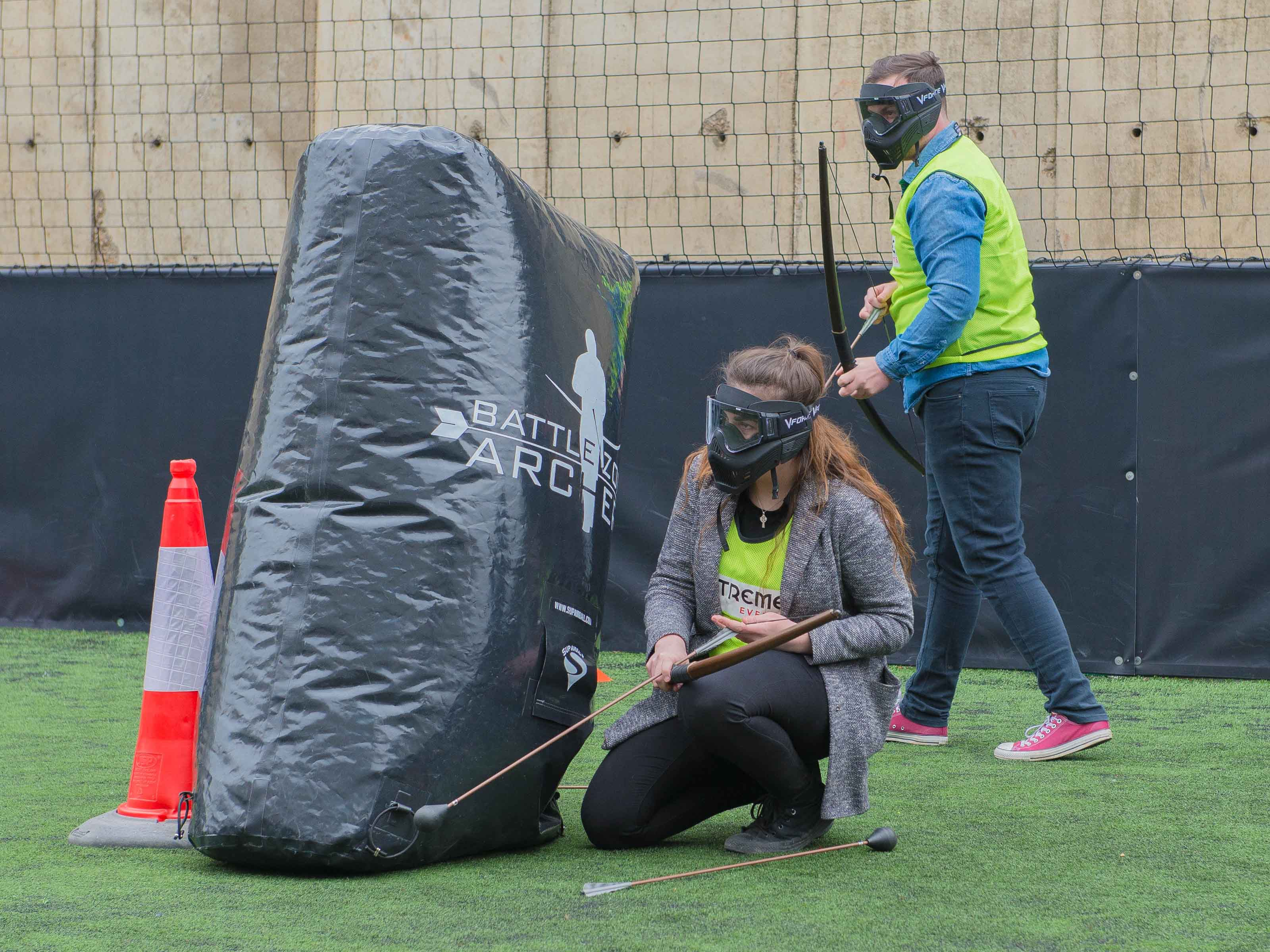Team Building Battle Archery Tag