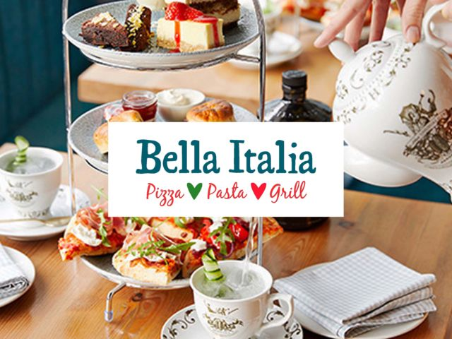 Bella Italia – Gin Afternoon Tea