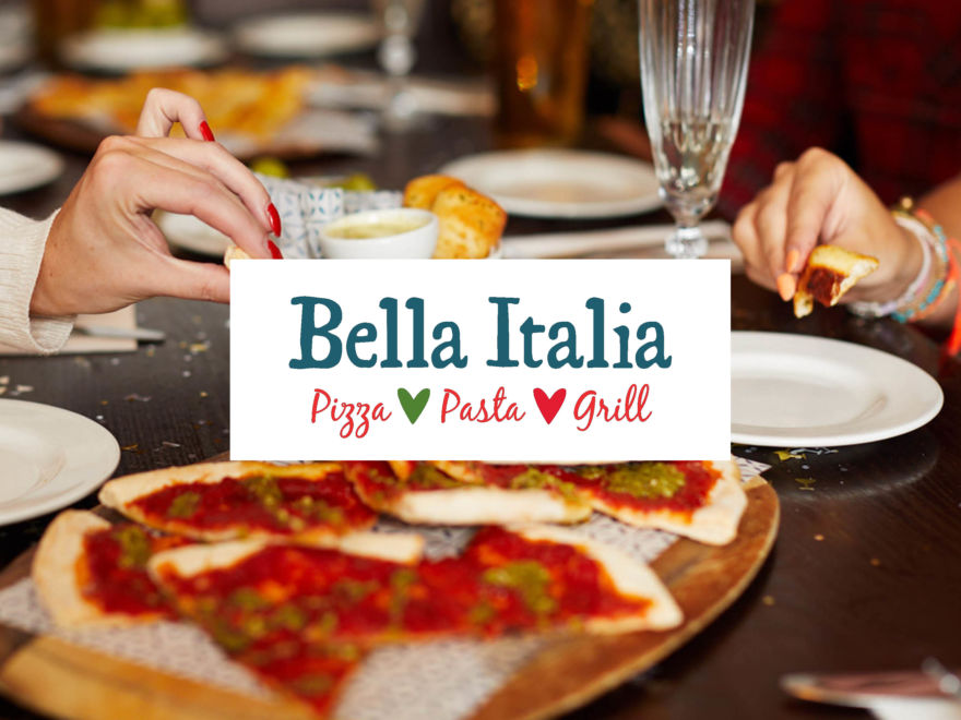 Bella Italia - Two Course & Unlimited Prosecco