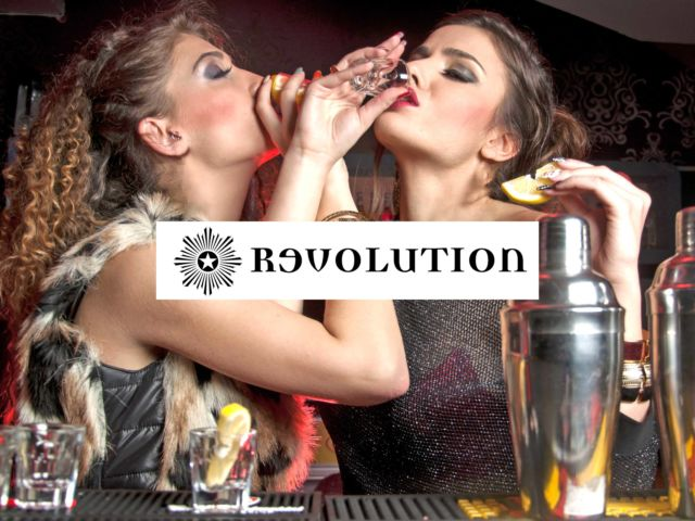 Revolution - Reserved Area with Vodka
