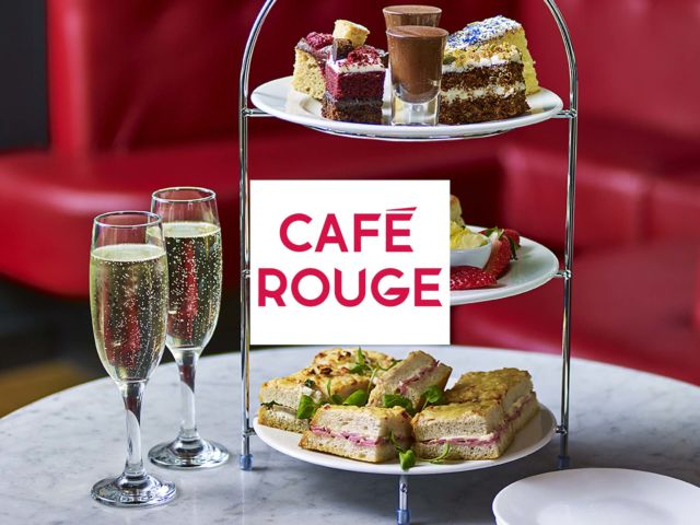 Café Rouge - Afternoon Tea with Bottomless Prosecco