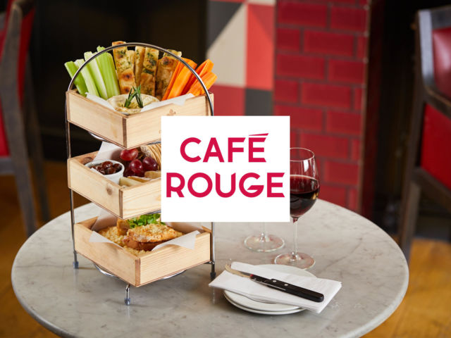 Café Rouge – Cheese Afternoon Tea with Wine