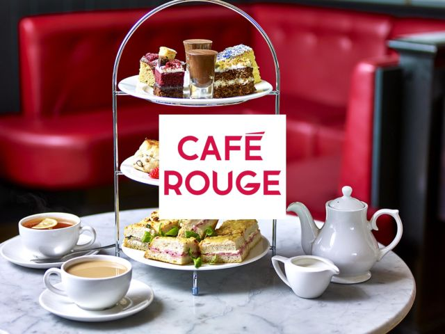 Café Rouge – Classic Afternoon Tea