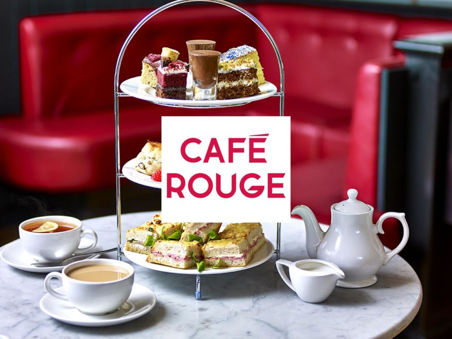 Cafe Rouge Classic Afternoon Tea