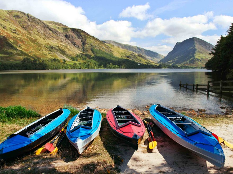 Canoeing Lake District