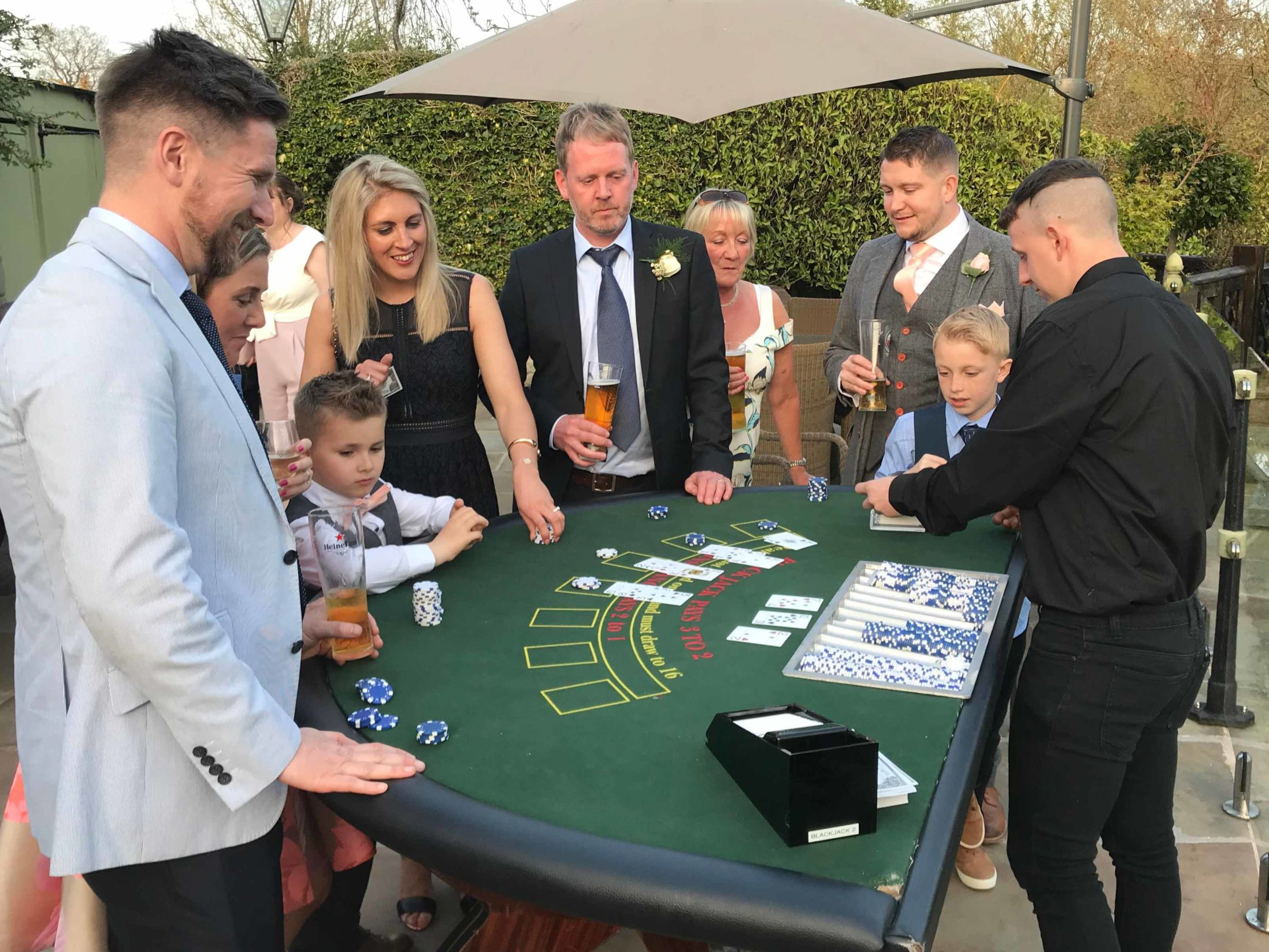 Christmas Party Ideas Perfect for In-Office - Casino Table Hire