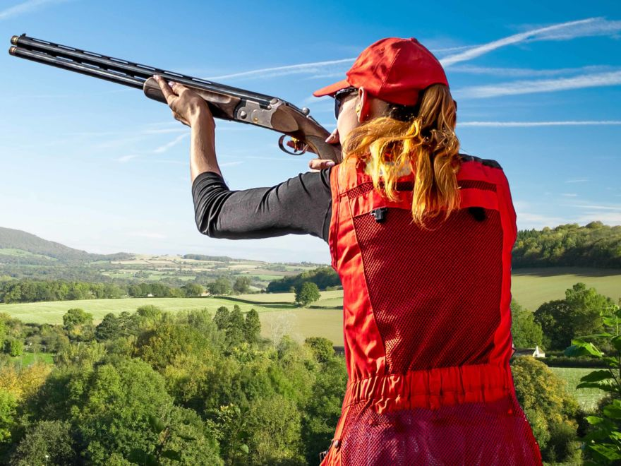 Hen Party Clay Pigeon Shooting