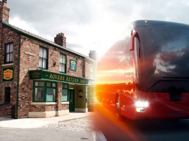 Coronation Street Coach Tour
