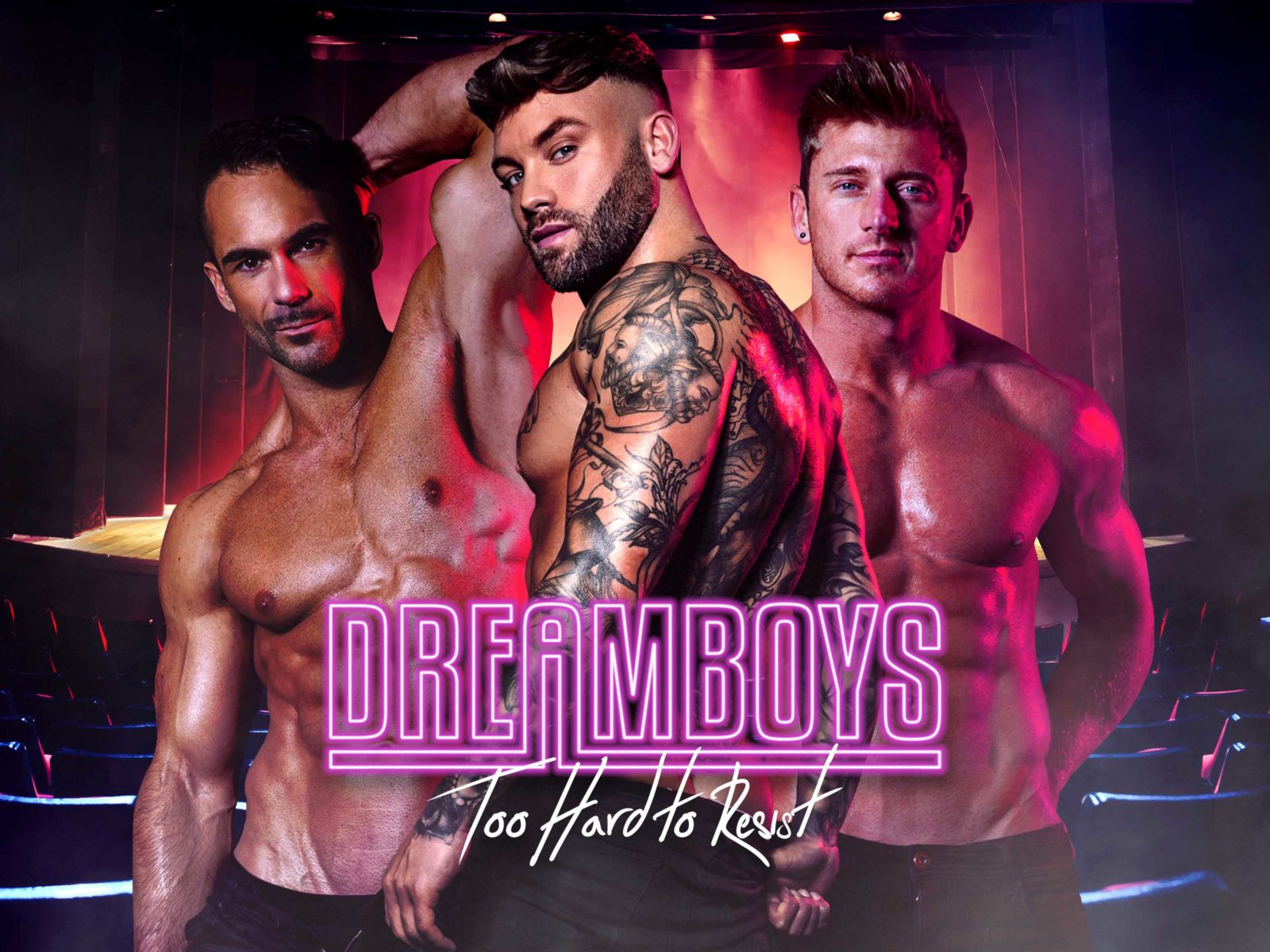 Dreamboys Male Strip Show Hen Party