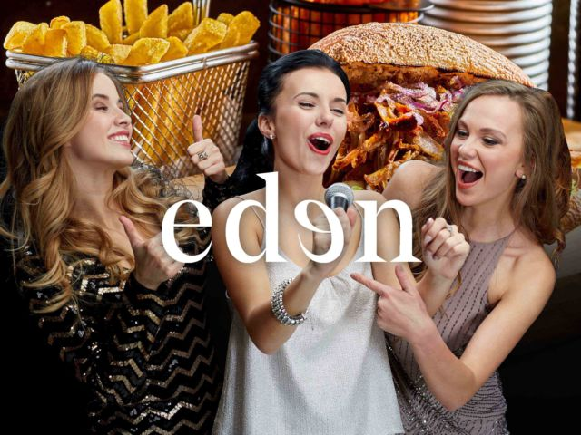 Eden - Karaoke & 2 Course Meal